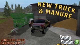 FORD F-450 & MANURE | Farming Simulator 2017