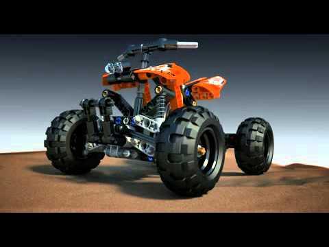 Vidéo LEGO Technic 9392 : Le quad