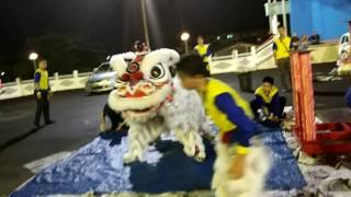 拿笃德教会紫瑜阁醒狮团B队 @ 2017年拿笃德教会新春晚会