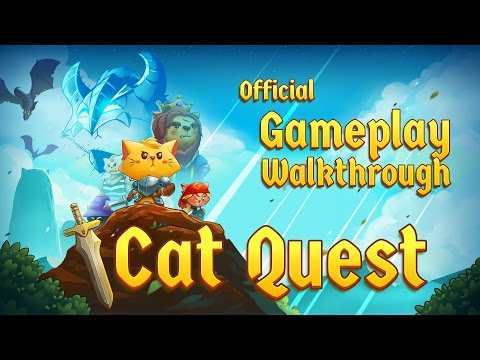 Cat Quest - Steam, iOS, Android, PS4, Switch - Official Gameplay Walkthrough thumbnail