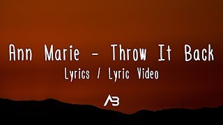 pull up ann marie lyrics - Website to share and share the