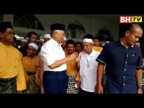 Najib singgah Bazar Ramadan Taman Paroi Jaya