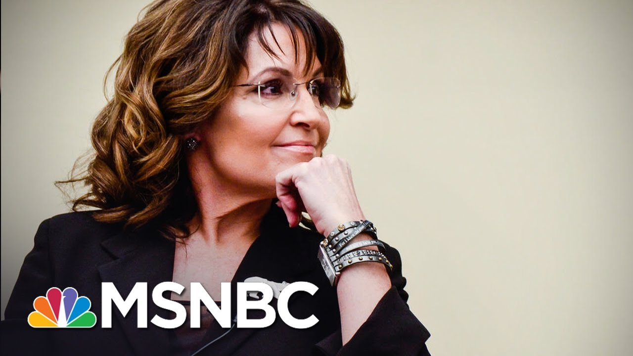 Sarah Palin Talking To Donald Trump's Team About VA Secretary Post: Source | MSNBC thumbnail