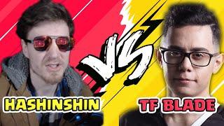 HASHINSHIN VS TF BLADE ! THE SUPER TOP LANERS