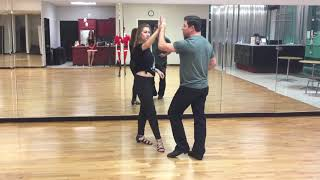 Two Step Lessons online with D'Amico Dance Intermediate Class Recap 12/17/18