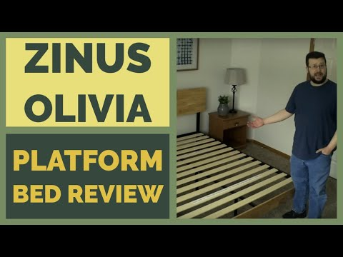 Zinus Tuscan Platform Bed Assembly & Review