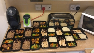 BULKING MEAL PREP FOR THE WEEK - 3,500kcal CHEAP, QUICK & EASY IIFYM