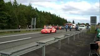 preview picture of video '53. Cosmo Rallye Wartburg - Shake Down - Dobberkau Porsche 997 GT3'