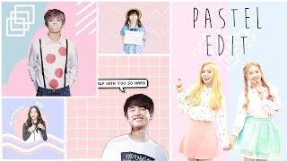 Gambar cover Membuat Foto Pastel Edit ala K-Pop   Picsart Tutorial