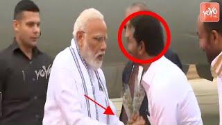 YS Jagan Welcomes PM Modi | Jagan Try To Touch Modi Feet | AP News | BJP | YSRCP | YOYO TV Channel