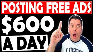 Earn $600 Daily Posting UNLIMITED FREE ADS (+ Giveaway Winners) Make Money With Affiliate Marketing