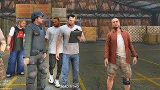 GTA 5 REAL LIFE CJ MOD #123 - LET'S GO TREVOR!!!(GTA 5 REAL LIFE MODS/ THUG LIFE)