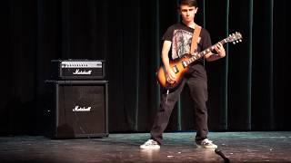 High School Talent Show Guitar Medley