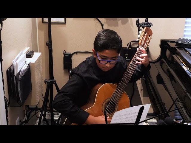 Adi Bagga plays Caracassi Study in A minor