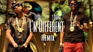 "2 Chainz - I'm Different ""Remix"" Ft. Tyga [Prod. By DJ Mustard]"