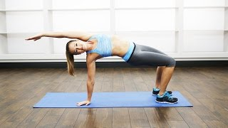 5-Minute Love Handle Workout   Class FitSugar by POPSUGAR Fitness
