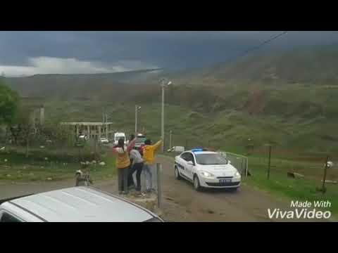 Siirt te Hain Saldırı Sonuçu 6 Güvenlik korucusu Şehit oldu Şehitlerimizin Köye Getirildi
