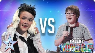 KNOCKOUT MATCH: George Sampson vs Jack Carroll | Britain's Got Talent World Cup 2018 - Video Youtube