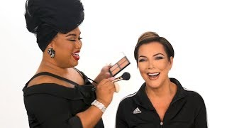 KRIS JENNER MAKEUP TUTORIAL | PatrickStarrr - Video Youtube