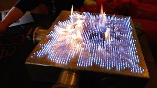 Video Pyro Board: 2D Rubens' Tube!