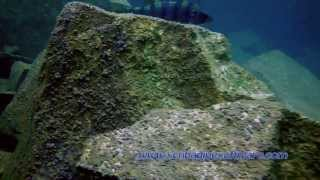 preview picture of video 'Underwater landscape of quarry Horka / Podwodny krajobraz kamieniołomu Horka'
