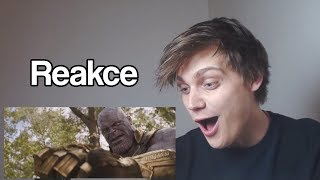 Avengers: Infinity War | Trailer 2 | Reakce
