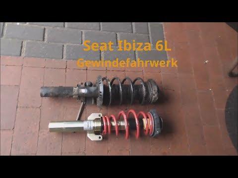 Seat Ibiza 6L Gewindefahrwerk einbauen