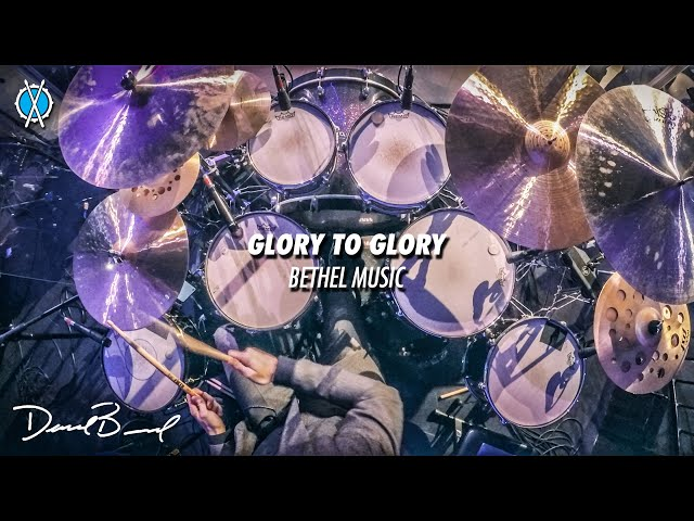 Glory To Glory Drum Cover // Bethel Music // Daniel Bernard