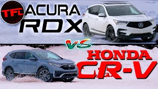 When the Weather Turns Bad Is The Acura RDX or CR-V Better In The Snow: I Drive Both To Find Out!