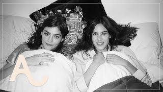 Sleep Talking Part 1 - Alexa Chung Learns About Bediquette | ALEXACHUNG