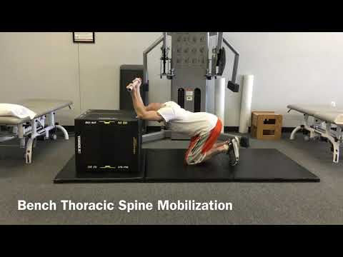 Bench Thoracic Spine Mobilization
