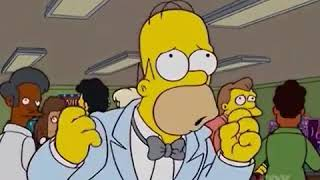 Os Simpsons – Presidente por acidente – clip1
