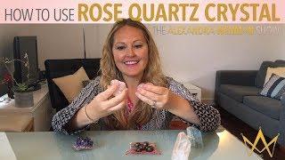 How to use Rose Quartz Crystal: Rose Quartz a Symbol of Love
