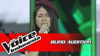 Ingrid - Paris In The Rain | Blind Auditions | The Voice Indonesia GTV 2018