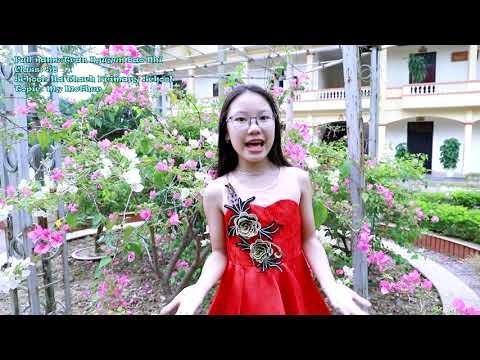 Trần Nguyễn Bảo Nhi - Tiểu học Hà Thạch tham gia thi Trạng nguyên Tiếng Anh 2019