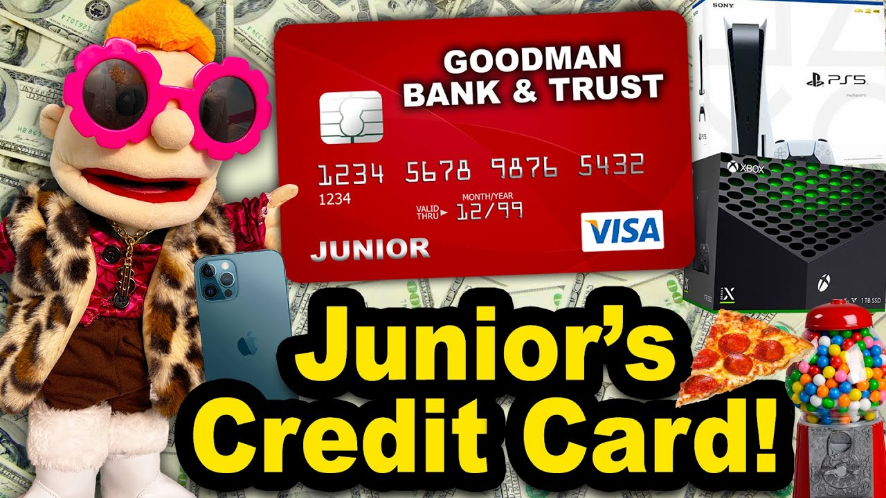 SML Film: Junior's Charge card!