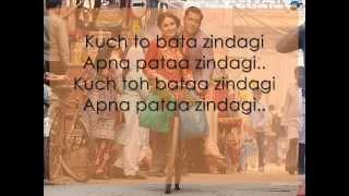 Zindagi Kuch Toh Bata Full Song with LYRICS - Bajrangi Bhaijaan