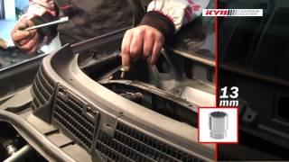 Montážní návod KYB - přední Nissan Qashqai