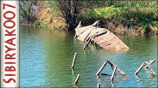 Рыбалка на Микроджиг у Старого моста ` Простой и КЛЁВЫЙ монтаж на Окуня