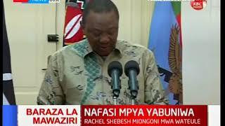 Keriako Tobiko, Farida Karoney among new names in cabinet