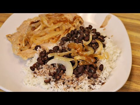 Cuban Pork with Black Beans and Rice – healthy recipe channel – easy dinner – cooking channel – goya