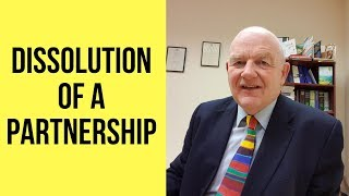 Dissolution of a Business Partnership-How to Terminate a Partnership