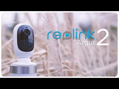 reolink Argus 2 Solar | kabellos mit Akku | Videoüberwachung 2018 | deutsch