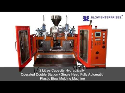 2 Ltrs. Jerrycans Blow Molding Machine
