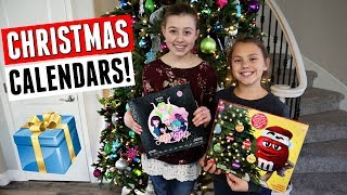 Opening Our Christmas Advent Calendars 2018!