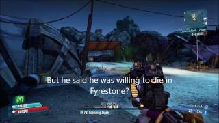 Borderlands 2. Five lost Echos in Arid Badlands.