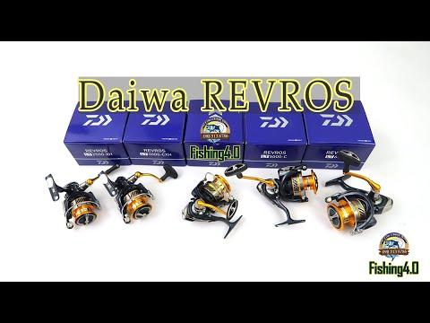 Máy câu cá Daiwa Revros 1000 2500 3000 4000 5000 6000