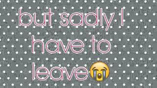 Goodbye Avery