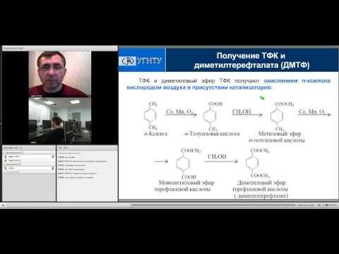 """Фрагмент вебинара по программе""""Развитие производства полимерных материалов """""""
