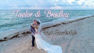 Wedding At Marriott Harbor Beach - Ft Lauderdale